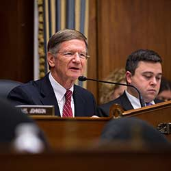"Photo: NASA HQ, Flickr CC Congressman Lamar Smith (R-TX), chair of the House Science, Space & Technology Committee, calls the Obama administration's 2014 National Climate Assessment -- which squarely pins the blame for global warming on human industrial activity-- ""a political document intended to frighten Americans into believing that any abnormal weather we experience is the direct result of human CO2 emissions."""