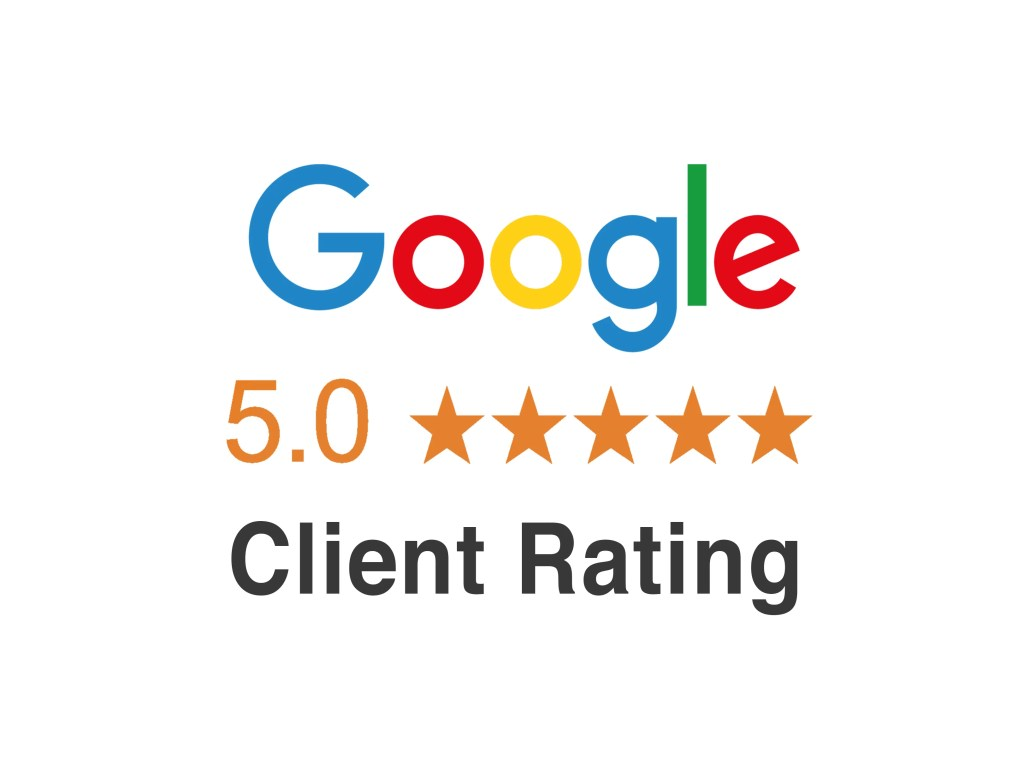 Google - 5 Star Client Rating