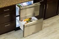 Refrigerator Drawers | Edgewood Cabinetry