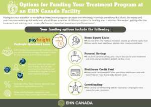Options for Funding Your Addiction Treatment EHN Canada