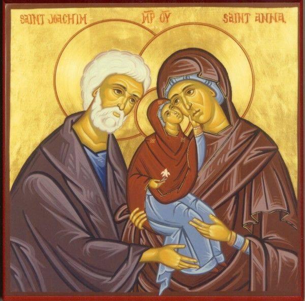 Saint Anna, mother of the Virgin Mary