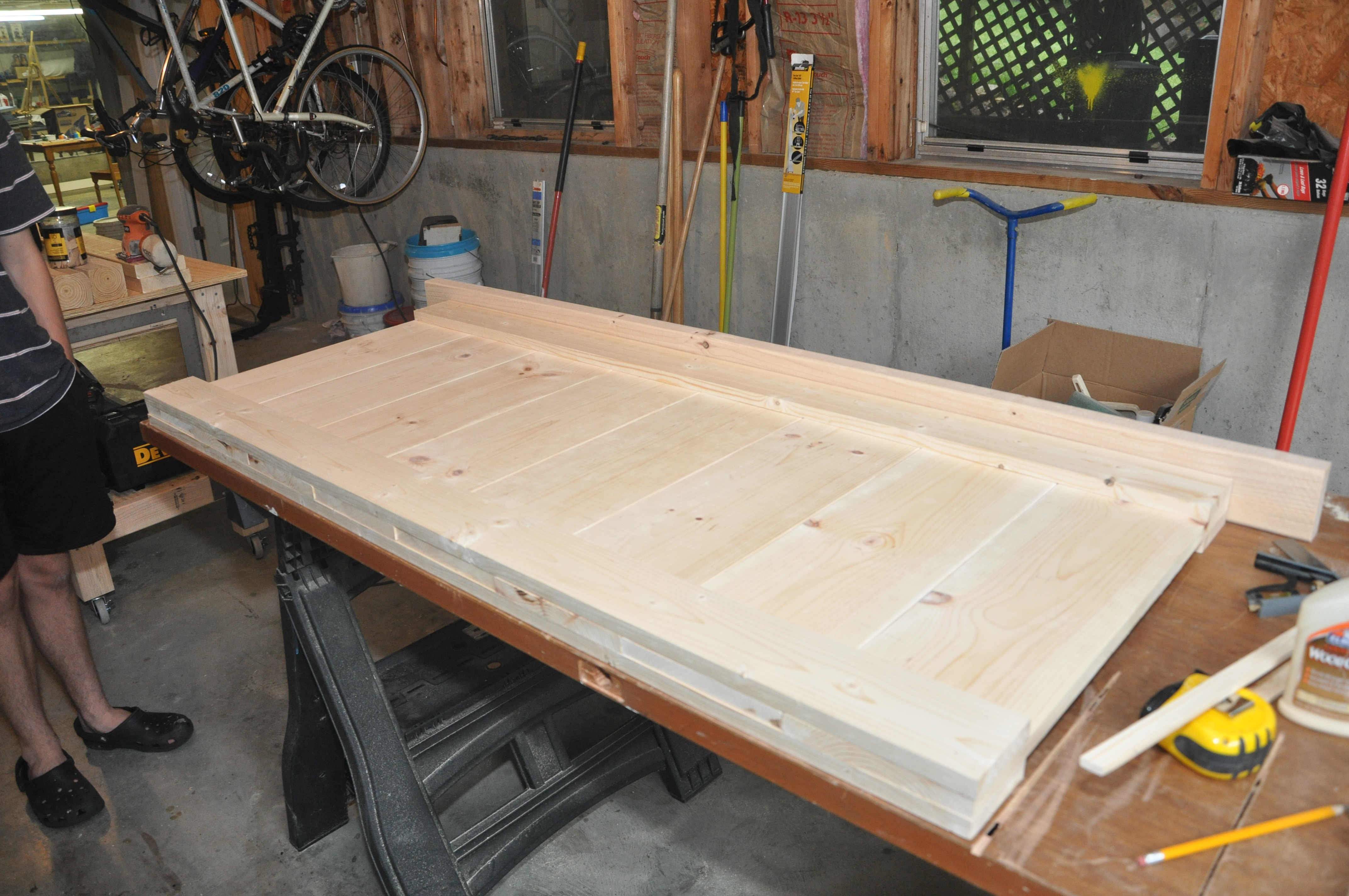 Free Plans For Making A Queen Size Farmhouse Bed