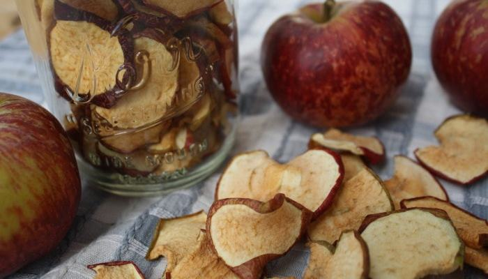 Delicious dried apples