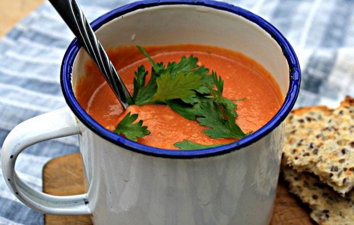 tomato lentil soup