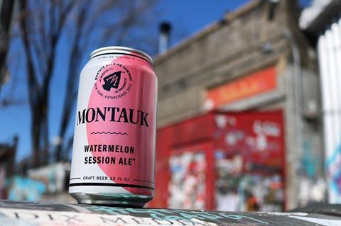 Two Hands and Montauk Brewing Company Watermelon Ale