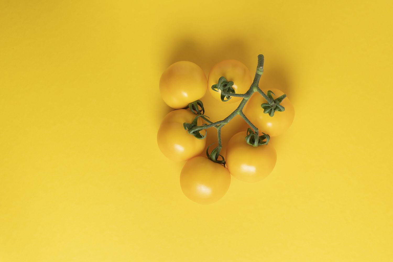 seasonal kitchen yellow tomato