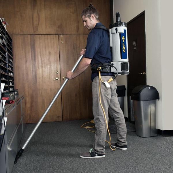 Atlas HEPA Backpack Vacuum
