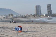 Más de 30 toneladas de basura y desperdicios retiran del borde costero