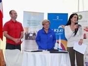 Firman convenio para instalar 3 Puntos Limpios en Iquique