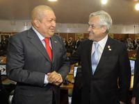CELAC - Piñera y Chavez