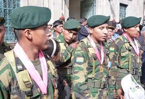 Soldados condecorados