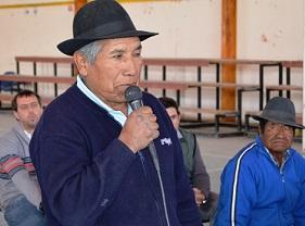 Agricultores y ganaderos de Colchane aclaran dudas en Gabinete Regional 1