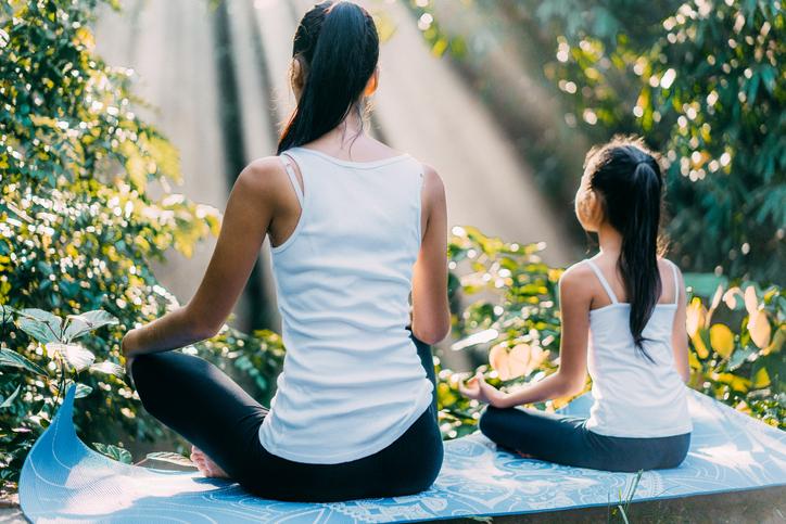 Yoga para principiantes: postura del loto