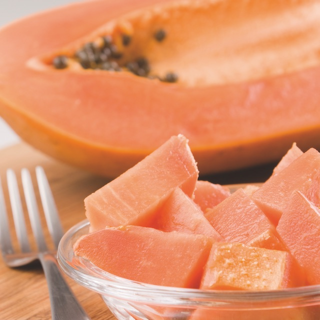 Alimentos depurativos 11. Papaya