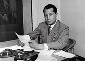 José Antonio Primo de Rivera, il fondatore e capo della Falange Spagnola