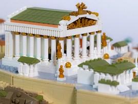 Particolare del diorama di Roma Imperiale