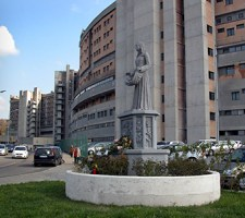 L'ospedale Belcolle di Viterbo