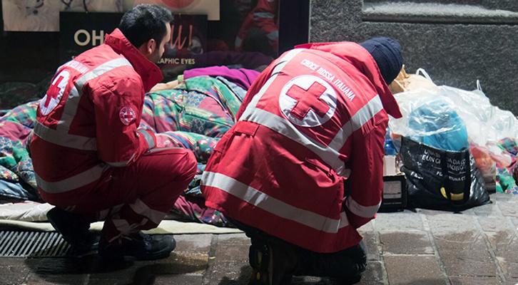 Covid-19: i senzatetto in difficoltà per l'epidemia