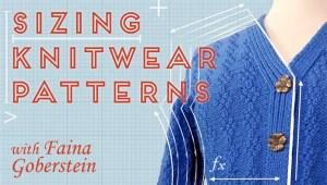 Sizing Knitwear Patterns image