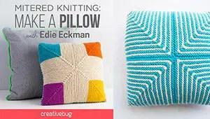 Mitered Knitting Creativebug