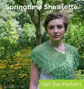 Springtime Shawlette