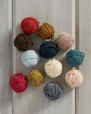 Alterknit Stitch Dictionary yarn balls