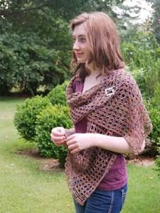 Stacie Stole Crochet Pattern