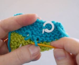How to Graft Garter Stitch adjusting stitches