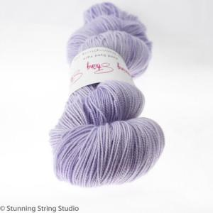 Stunning String yarn color Spring Iris