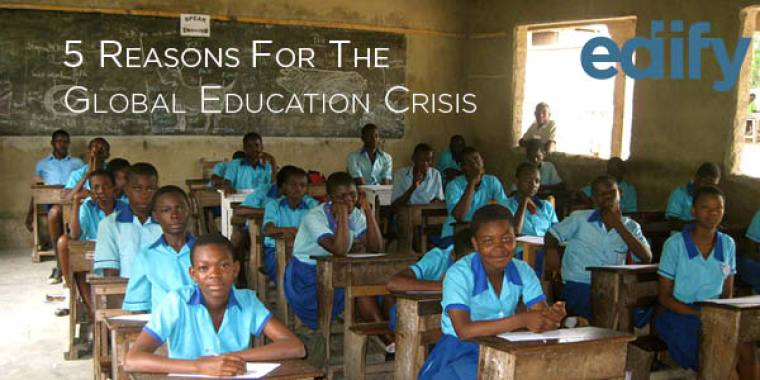 2016 August Blog Global Education Crisis