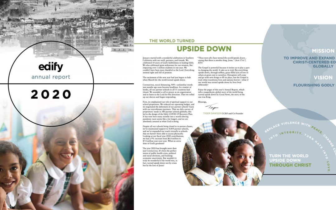 The World Turned Upside Down: Our 2020 Annual Report