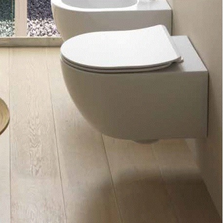 WC WALL HUNG TOILET GSG LIKE MODEL WC WALL HUNG SEAT SOFT