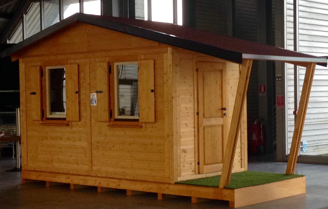 Casette in legno prefabbricate Casette da giardino
