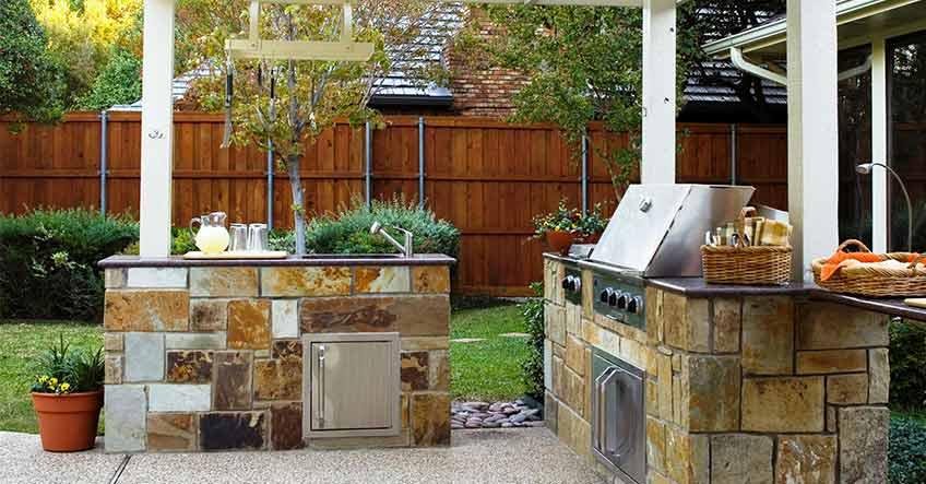 Cucine in muratura da esterno  Non basta accendere il fuoco