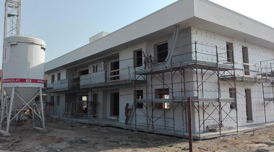 Isolamento termico Condominio Ciresare 5 a Zevio  Edil Pasquali