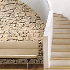 Rivestimento in vetroresina effetto mattone o pietra TOTAL Panel System by SpazioArreda