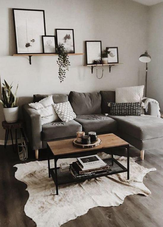 Complementi d'arredo completano il divano