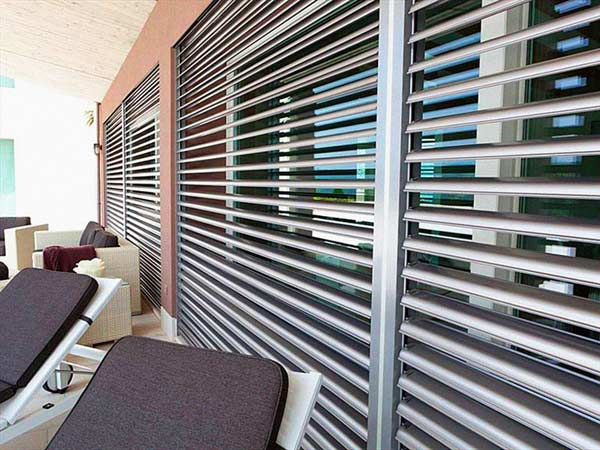 Frangisole Reggio Emilia  alluminio legno pvc orientabili