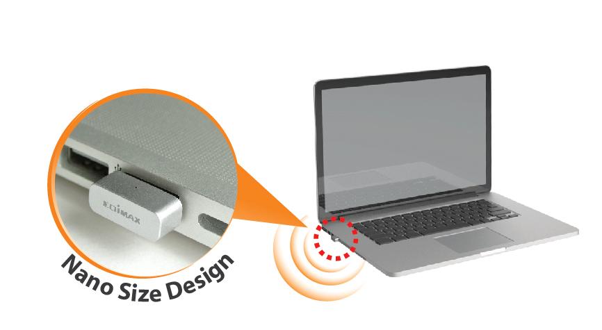 Edimax EW-7711MAC AC450 Wi-Fi USB Adapter-11ac Upgrade for MacBook, EW-7711MAC_Nano_size_design.jpg