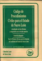 CODIGO DE PROCEDIMIENTOS CIVILES PARA EL ESTADO DE NUEVO
