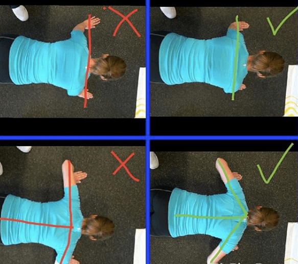 pushup position