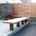 Garden bench image issued sep 2004 by city design co operative