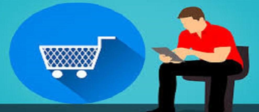 shopping using phone