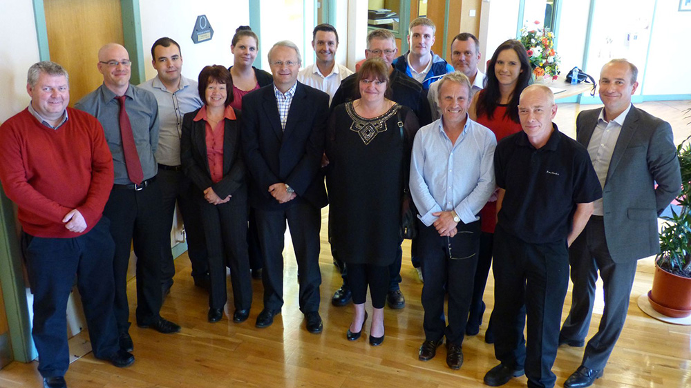 Macphie and Stewart Milne join forces at Staff 'Graduation' Day