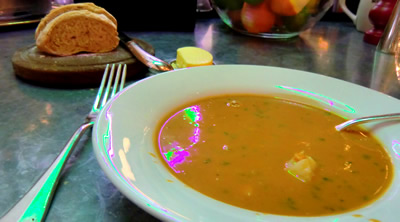 Fish soup to die for