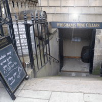 Whighams Wine Cellars, in the West End of Edinburgh