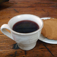 Glögg's traditionally served in small cups.