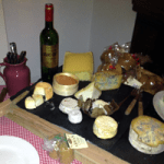 A cheese table. Mmm. That's my desert sorted.