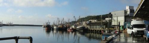 Shipping boats at Newlyn