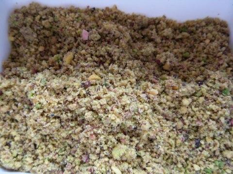 Pistachio - ground nuts